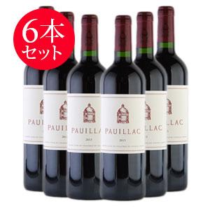 【送料無料】[2013] ポイヤック・ド・ラトゥール 6本セット【ワインセット】フランス / ボルドー / 赤ワイン