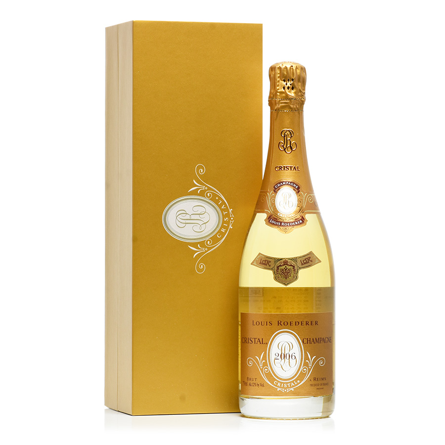 【新入荷★特別価格】【送料無料】[2006] ルイ・ロデレールクリスタル 【ギフトボックス】フランス / シャンパーニュ / 発泡系・シャンパン