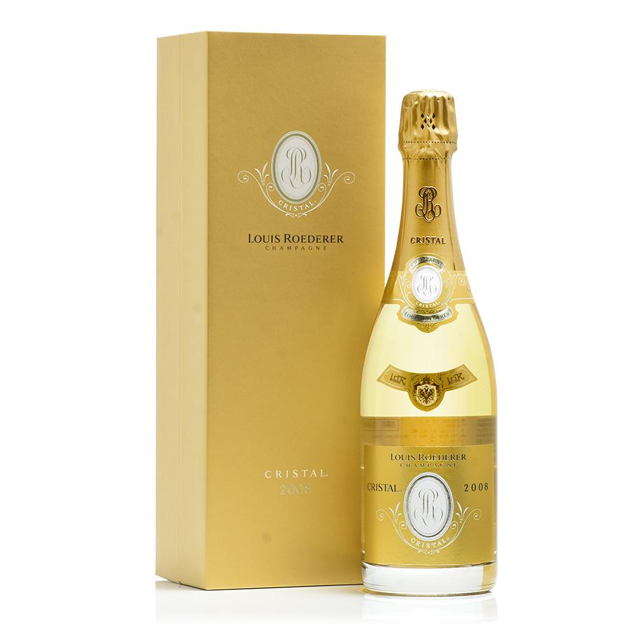 【送料無料】[2008] ルイ・ロデレールクリスタル 【ギフトボックス】フランス / シャンパーニュ / 発泡系・シャンパン