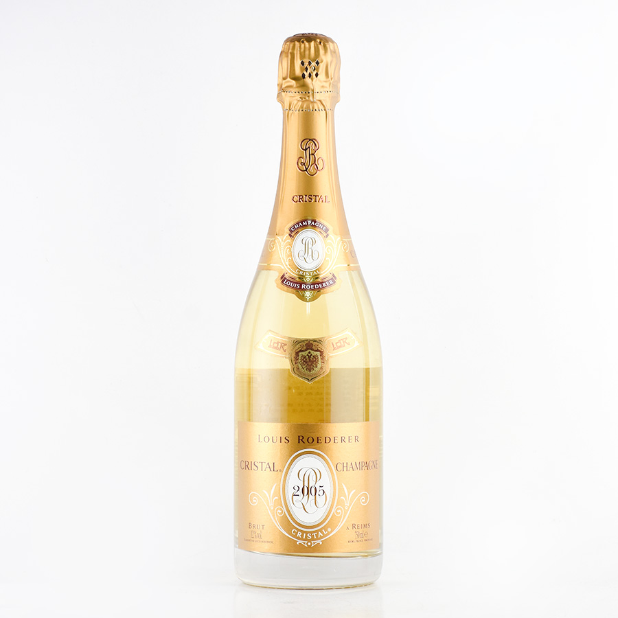 【新入荷★特別価格】[2005] ルイ・ロデレールクリスタルフランス / シャンパーニュ / 発泡系・シャンパン