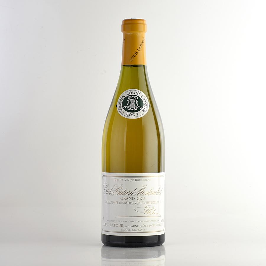 【新入荷★特別価格】[2007] ルイ・ラトゥールクリオ・バタール・モンラッシェフランス / ブルゴーニュ / 白ワイン
