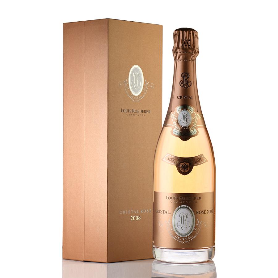 【新入荷★特別価格】[2008] ルイ・ロデレールクリスタル・ロゼ 【ギフトボックス】フランス / シャンパーニュ / 発泡系・シャンパン