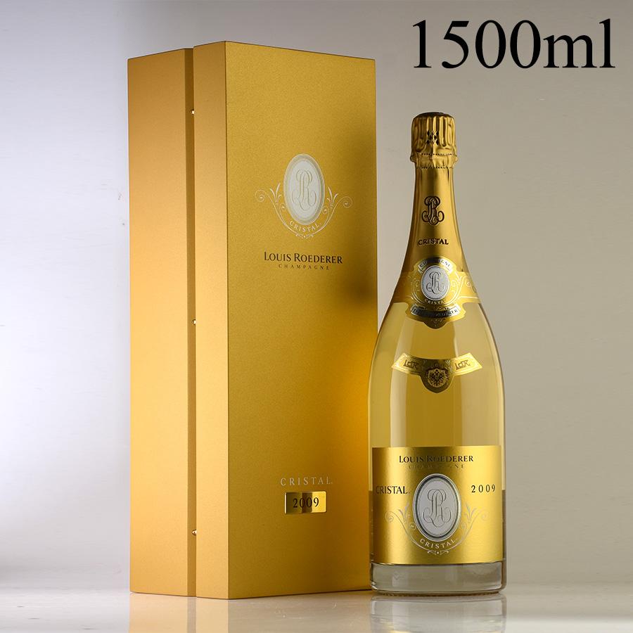 [2009] ルイ・ロデレールクリスタル マグナム 1500ml 【ギフトボックス】【正規品】フランス / シャンパーニュ / 発泡系・シャンパン