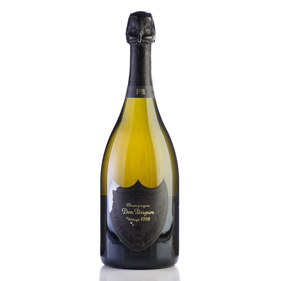 ドンペリ ドンペリニヨン P2 1998 ラベル不良 ドン・ペリニヨン シャンパン シャンパーニュ[のこり1本]