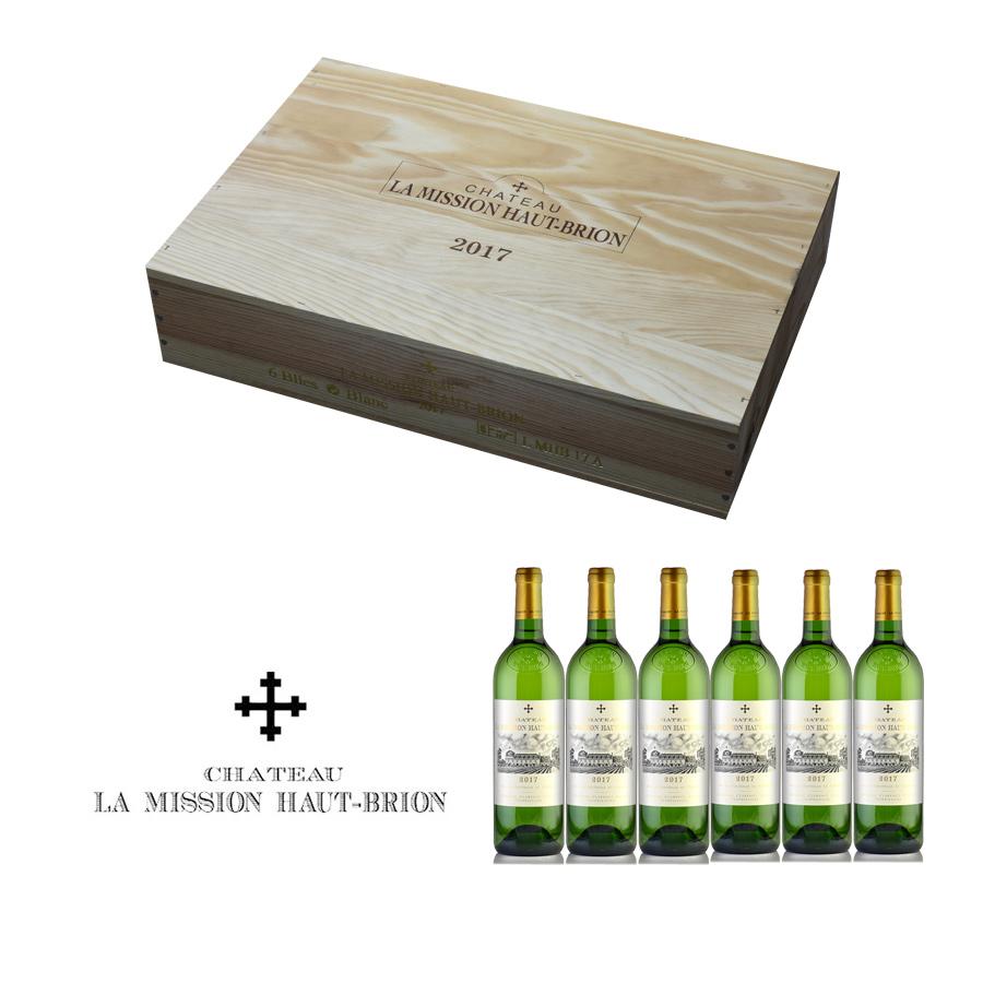 シャトー ラ ミッション オー ブリオン ブラン 2017 蔵出し 1ケース 6本 フランス ボルドー 白ワイン