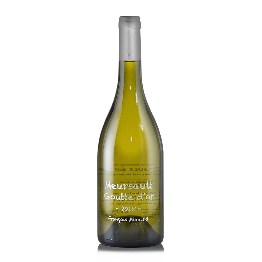 フランソワ ミクルスキ ムルソー プルミエ 日本産 記念日 クリュ グット ブルゴーニュ 白ワイン フランス 2018 ドール