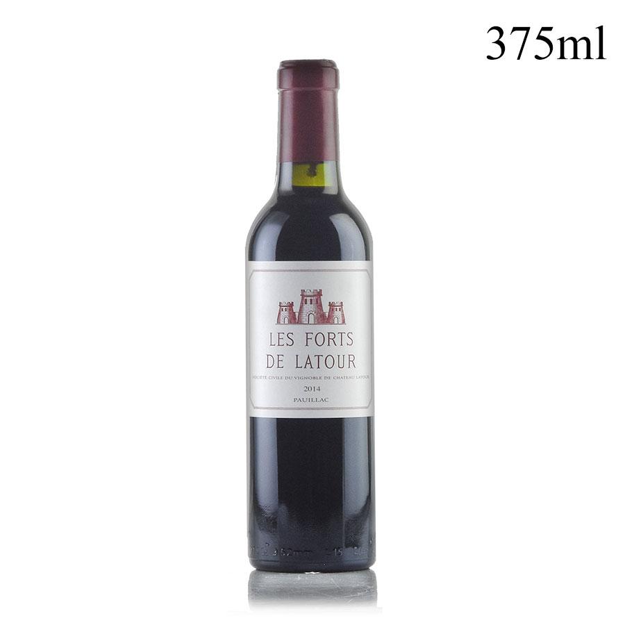 パーカーポイント 93点 期間限定 レ フォール ド ラトゥール 2014 日本最大級の品揃え 375ml ボルドー 赤ワイン フランス ハーフ シャトー
