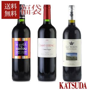 通常販売価格合計 15 400円 本日限定 税込 福袋 サードラベル ワイン 世界の銘醸ワイン 厳選3本 特価キャンペーン