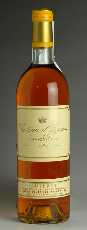 [1976] シャトー・ディケム【イケム】 Chateau d'Yquem