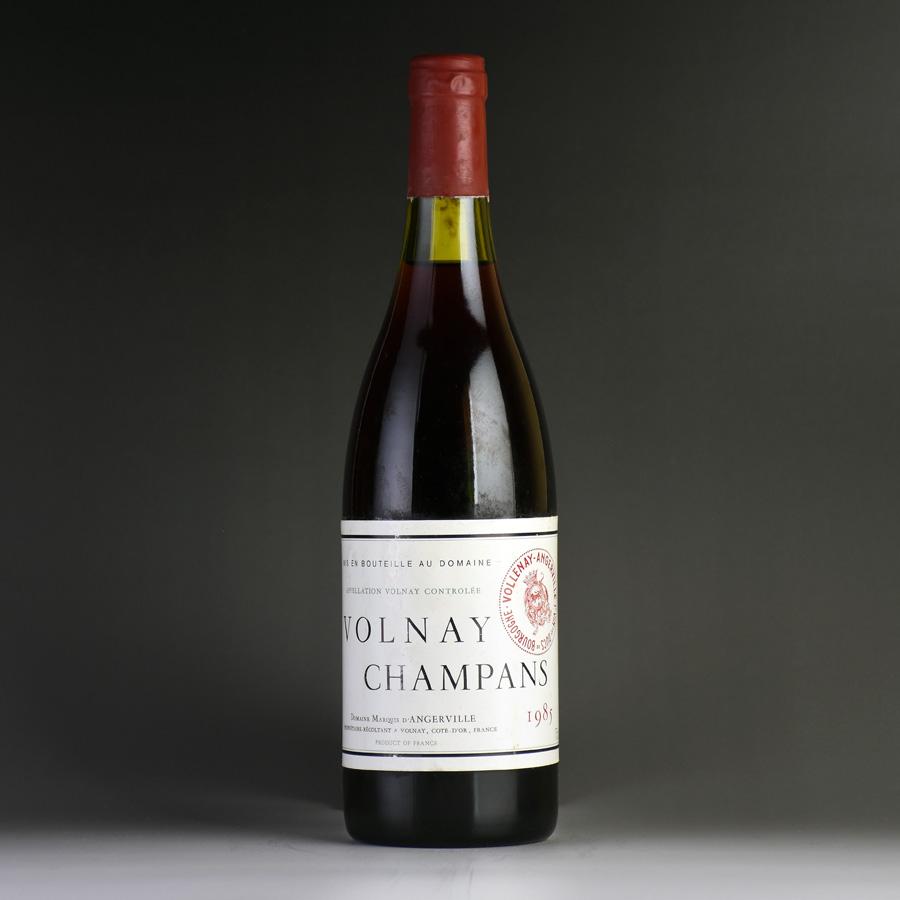 [1985] マルキ・ダンジェルヴィーユ ヴォルネイ・レ・シャンパン ※液漏れフランス / ブルゴーニュ / 赤ワイン[outlet][のこり1本]