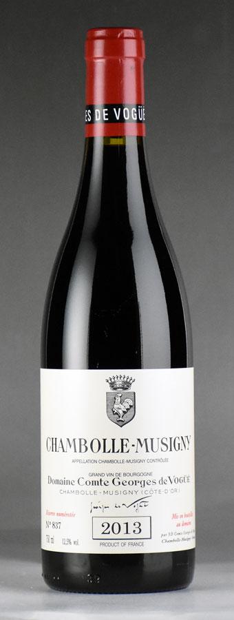[2013] ヴォギュエ シャンボール・ミュジニーフランス / ブルゴーニュ / 赤ワイン