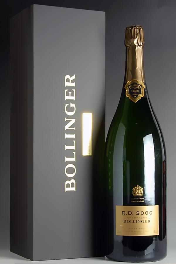 【送料無料】 [2000] ボランジェ アール ディー ジェロボアム 【正規品】【木箱入り】Bollinger R.D. 3000ml