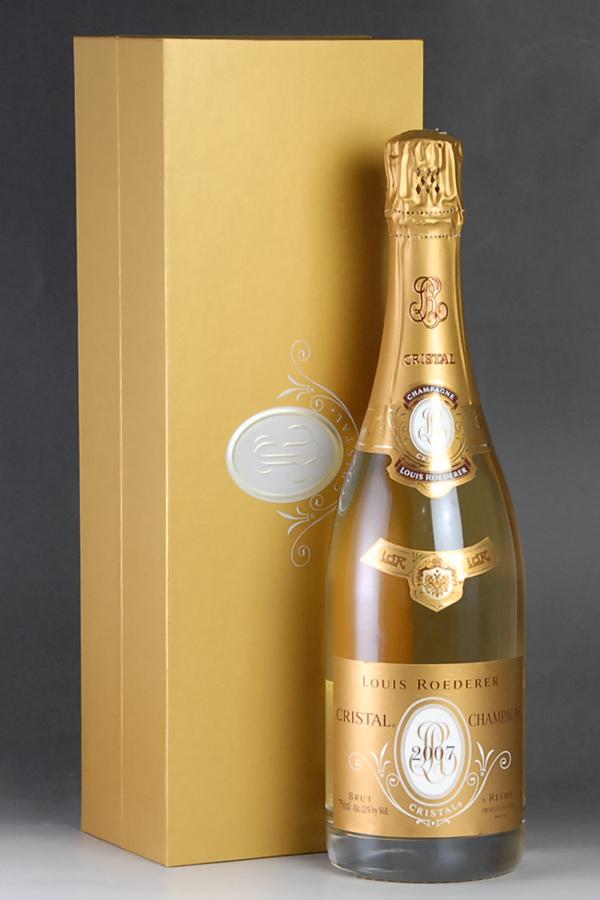 [2007] ルイ・ロデレール クリスタル・ブリュット【正規品】 【ギフトボックス】 1本Louis Roederer Cristal Brut 750ml
