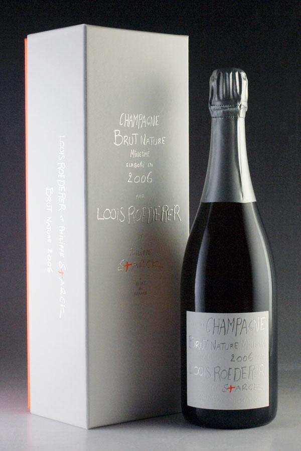 [2006] ルイ・ロデレール ブリュット・ナチュール 750ml【正規品】【ギフトボックス】