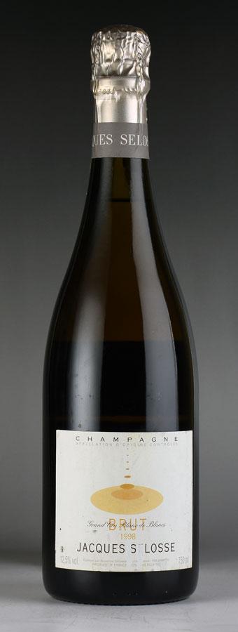 [1998] ジャック・セロス ミレジム※ラベル傷ありフランス / シャンパーニュ / 発泡・シャンパン