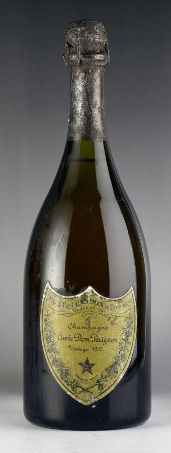 [1970] ドン・ペリニヨン ヴィンテージ ※ラベル擦れありフランス / シャンパーニュ / 発泡・シャンパン