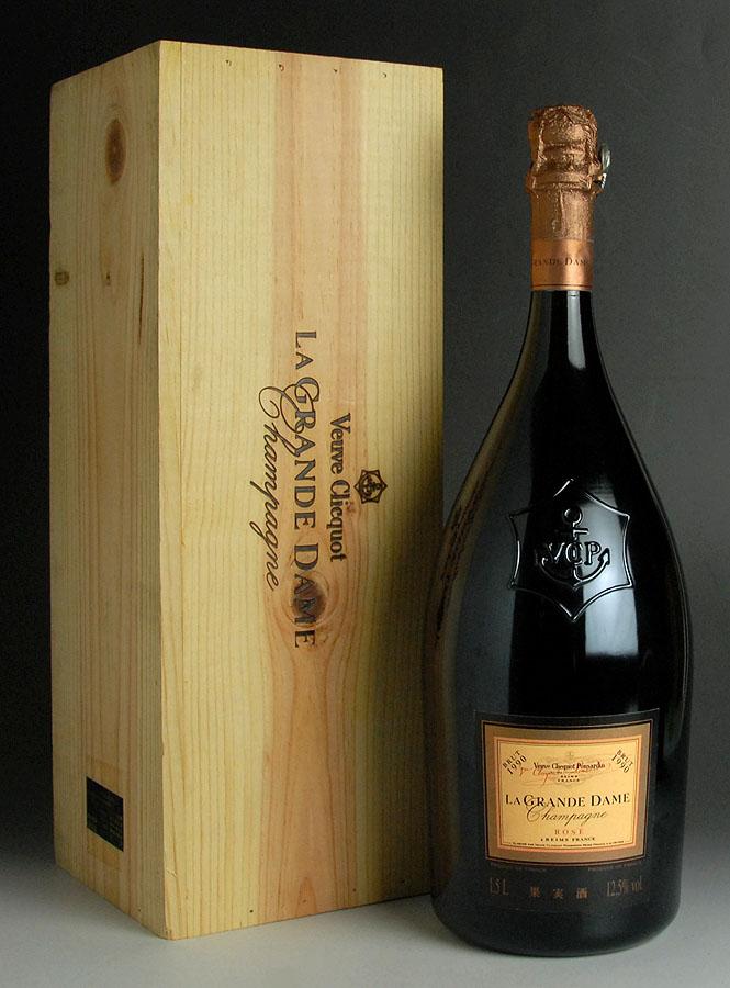 [1990] La Grande Dame Rose 1500mlVeuve Clicquotヴーヴ・クリコ ラ・グランダム ロゼ マグナムオリジナル木箱入り 1500ml