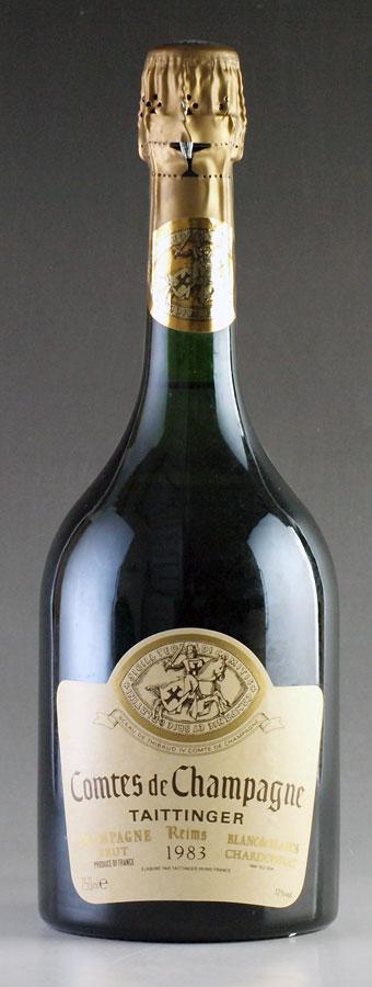 [1983] テタンジェ コント・ド・シャンパーニュ 750mlTaittinger Comtes de Champagneフランス / シャンパーニュ / 発泡・シャンパン
