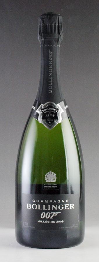 [2009] ボランジェ 007 スペクター リミテッド・エディション 750ml 【箱なし】Bollinger SPECTRE Limited Edition[自社輸入]フランス / シャンパーニュ / 発泡・シャンパン
