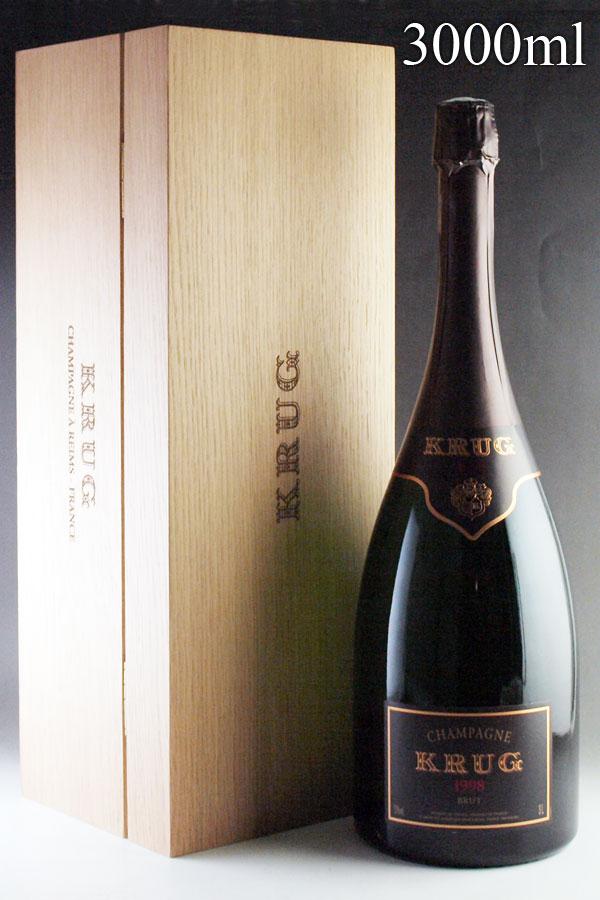 [1998] クリュッグ ヴィンテージ ジェロボアムKrug Vintage 3000ml[自社輸入]フランス / シャンパーニュ / 発泡・シャンパン