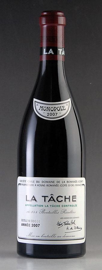 【送料無料】 [2007] ラ・ターシュ La Tache ドメーヌ・ド・ラ・ロマネ・コンティ DRC