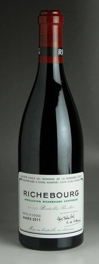 [2011] リシュブールRichebourgドメーヌ・ド・ラ・ロマネ・コンティ DRC