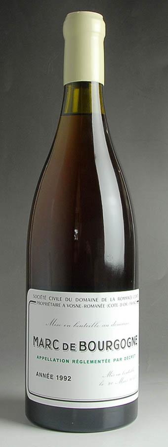 [1992] マール・ド・ブルゴーニュ ロマネ・コンティ Marc de Bourgogne DRC
