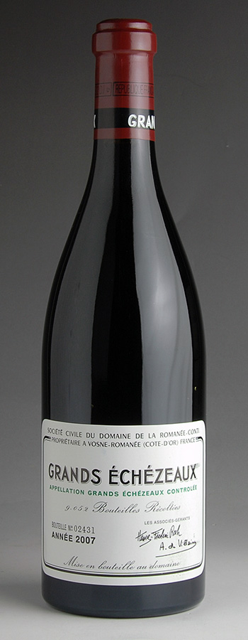 【送料無料】 [2007] ドメーヌ・ド・ラ・ロマネ・コンティ DRC グラン・エシェゾーフランス / ブルゴーニュ / 赤ワイン