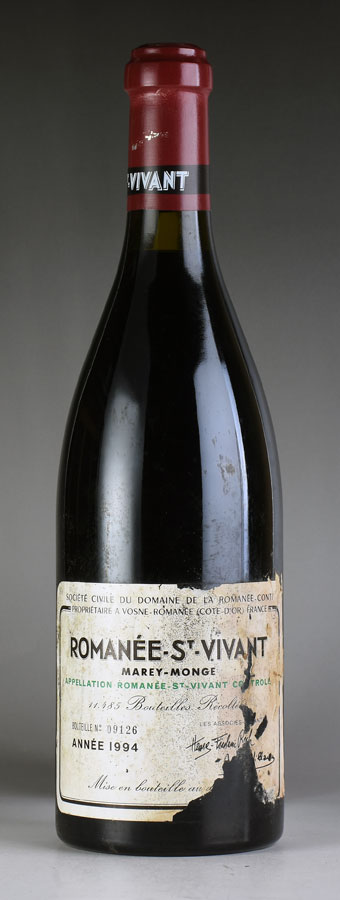 [1994] ロマネ・サン・ヴィヴァンRomanee St Vivantドメーヌ・ド・ラ・ロマネコンティ DRC※ラベル破損フランス / ブルゴーニュ / 赤ワイン