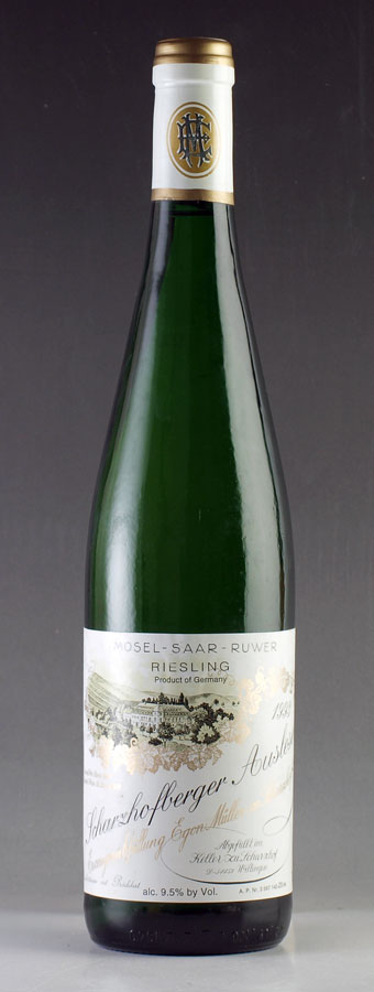 [1993] エゴン・ミュラー シャルツホーフベルガー リースリング アウスレーゼEgon Muller Scharzhofberger Riesling Auslese750mlドイツ / 白ワイン
