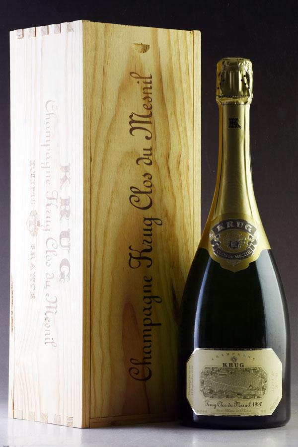 [1990] クリュッグ クロ・デュ・メニルフランス / シャンパーニュ / 発泡・シャンパン