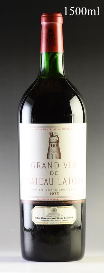 [1970] シャトー・ラトゥール マグナム 1500ml ※液漏れフランス / ボルドー / 赤ワイン