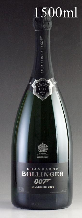 [2009] ボランジェ 007 スペクター リミテッド・エディション マグナム 1500ml【箱なし】Bollinger SPECTRE Limited Edition[自社輸入]フランス / シャンパーニュ / 発泡・シャンパン