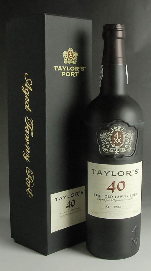 テイラー 40イヤー・オールド・トーニィ 750ml Taylor's 40 Year Old Tawny