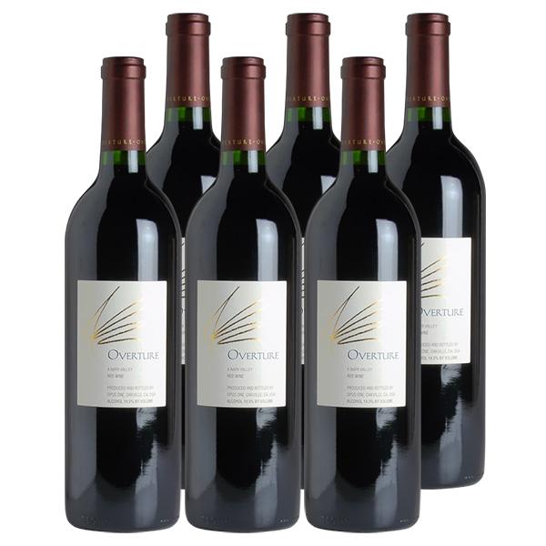オーバーチュア【オーヴァーチュア】 6本Overture NVオーパス・ワン【まとめ買い】アメリカ / カリフォルニア / 赤ワイン