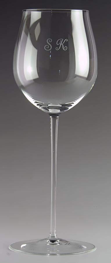【正規品】ロブマイヤー バレリーナ ワイングラスI 【イニシャル加工】【お取り寄せ】