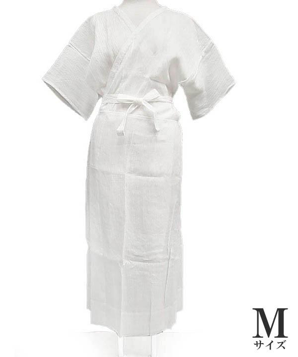 夏用 本麻 着物 ワンピース 日本製 洗える 本麻 手もみ 揚柳 和装下着 Mサイズ T7 23801431 g719 TSi