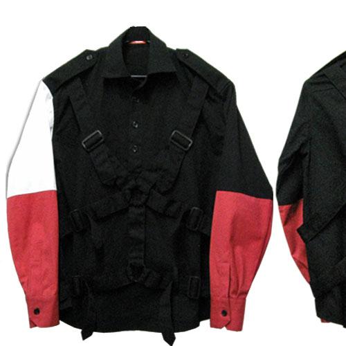 ROMANTIC NEUROSIS パラシュートシャツ UK-TYPE【パンク】【PUNK】【ロマンチックノイローゼ 市場店】