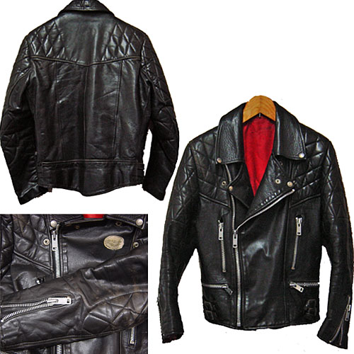 [LEWIS LEATHERS NEVADA 70's Vintage Motorcycle Jacket路易斯皮革]