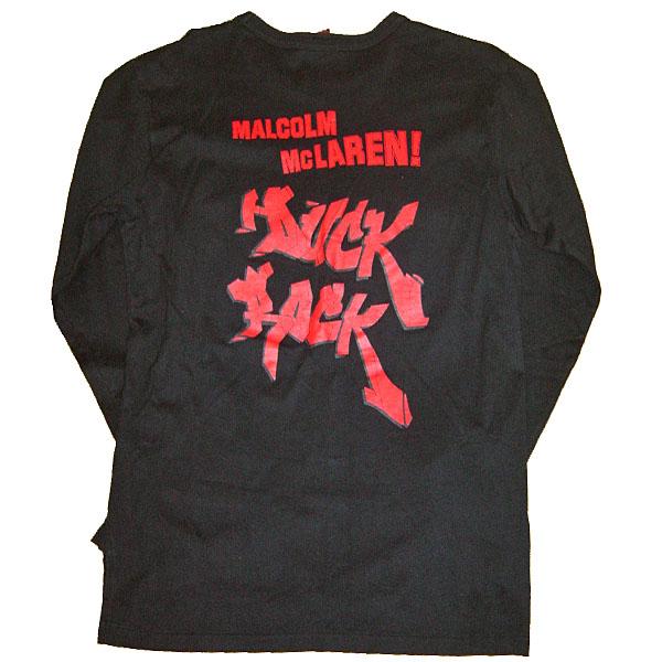 Worlds end Classics Malcolm McLaren Duck Rock T-shirt ワールズエンド クラシックス マルコム マクラーレン Tシャツ【中古】【ロマンチックノイローゼ 市場店】