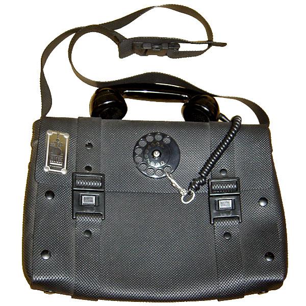 Hi Tek Designs London Alexander Telephone Bag CYBER ハイテック ショルダーバッグ サイバー・パンク【中古】【ロマンチックノイローゼ 市場店】