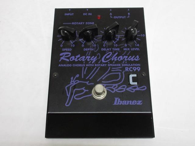 Ibanez RC99 Rotary Chorus アイバニーズ ロータリー コーラス 【中古】【ギター周辺機器】【金沢本店 併売品】【5100146Kz】