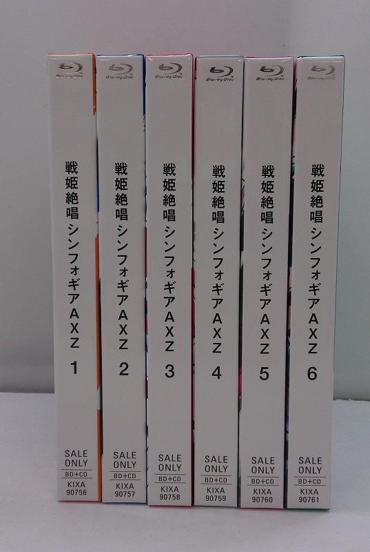 【中古】【Blu-ray】戦姫絶唱シンフォギアAXZ  全6巻セット
