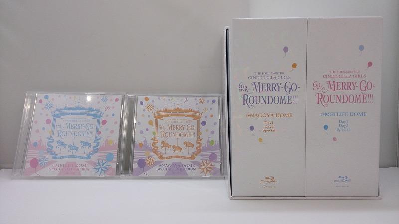 【中古】【Blu-ray-BOX】THE IDOLM@STER CINDERELLA GIRLS 6th LIVE MERRY-GO-ROUNDOME!!!