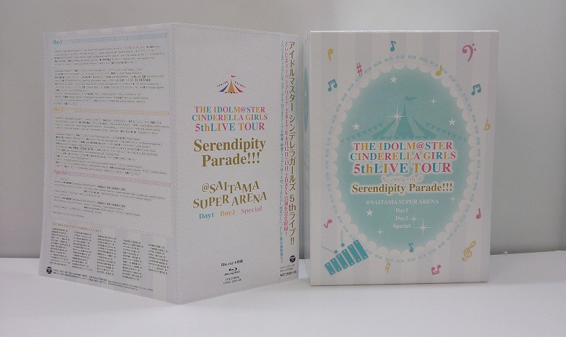 【中古】【Blu-ray】THE IDOLM@STER CINDERELLA GIRLS 5thLIVE TOUR Serendipity Parade!!!@SAITAMA SUPER ARENA(初回限定生産)
