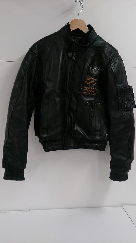 【中古】KADOYA NEW CONCEPTER カドヤ ニューソンセプター シングルライダースジャケット SIZE:M メンズ レザージャケット ブラック ライディング JKT