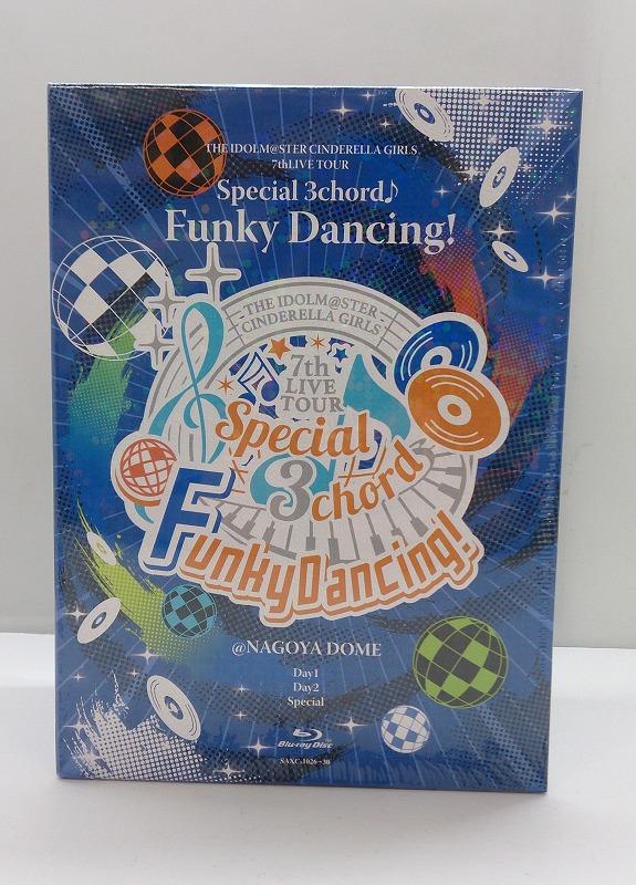 送料無料 ご注文で当日配送 中古 アニメDVD BD 各務原店 併売品 0500601KR Blu-ray THE 人気 IDOLM@STER TOUR 7thLIVE GIRLS @NAGOYA Funky Dancing 3chord CINDERELLA DOME Special