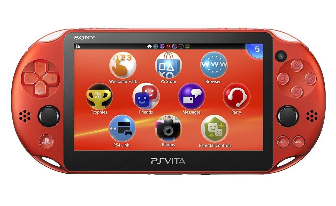 PlayStation Vita Wi-Fiモデル メタリック・レッド VITA 未使用 【中古】【ニューゲームハード】【金沢本店 専売品】【2900012Kz】