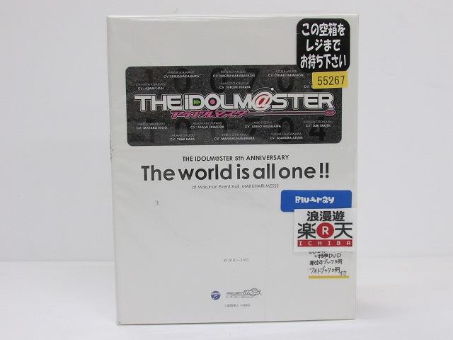 超高品質で人気の THE IDOLM@STER 5th ANNIVERSARY The world is all one!! Blu-ray BOX 【初回生産限定】【Blu-ray】 アイドルマスター 【】【アニメDVD・BD】【金沢本店 併売品】【600396Kz】, etile 楽天市場ショップ a757abd7