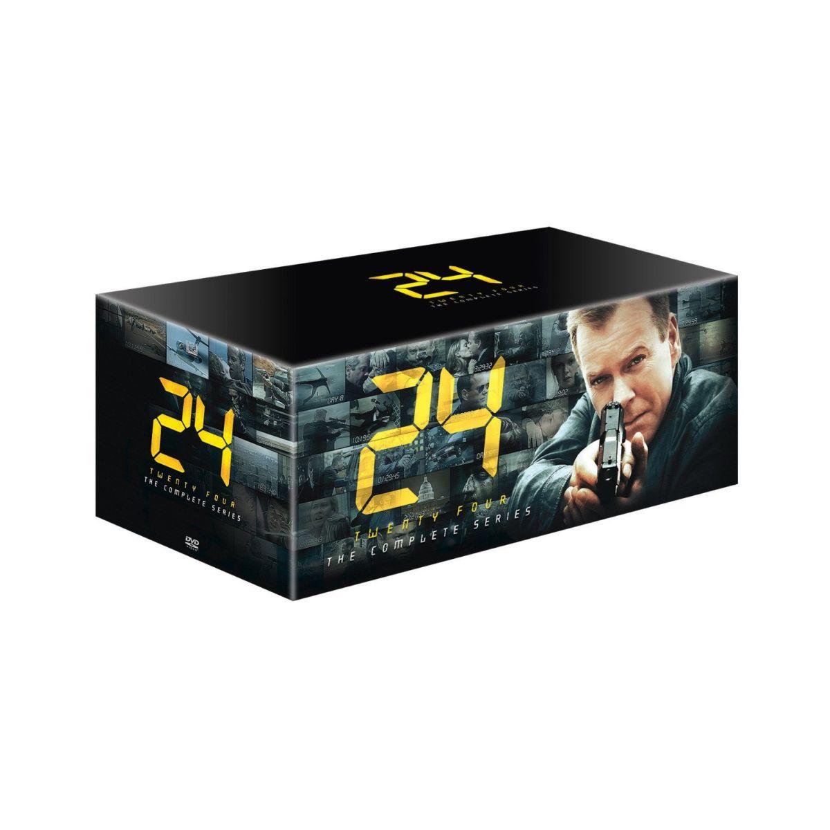 【中古】【DVD-BOX】24 TWENTY-FOUR 10周年記念 コンプリートDVD-BOX